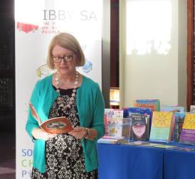 Sharing a poem with IBBY South Africa