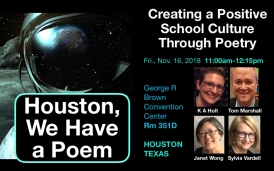 Presenting at NCTE in Houston